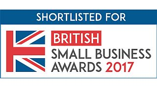 Shortlisted for British Small Business Awards logo