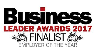 Business Leader Awards 2017 Employer of the Year Finalist