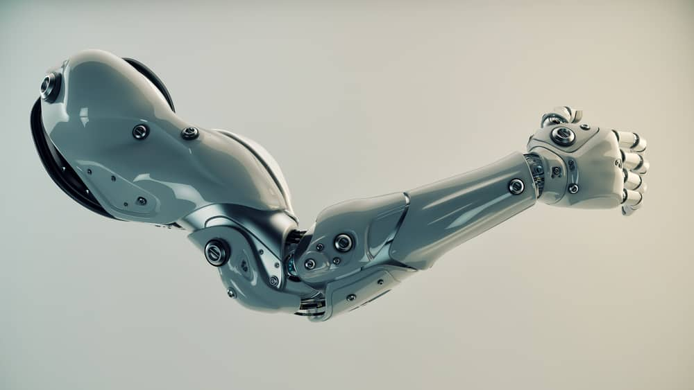 Prosthetic limb, bionic arm research and development