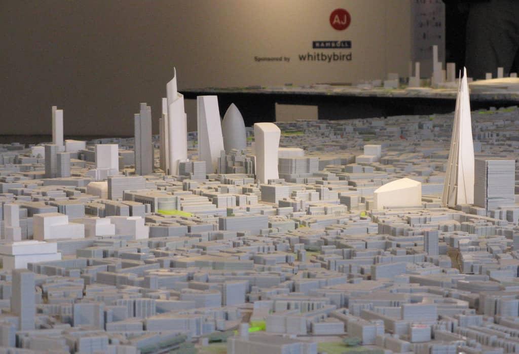 City 3d modelling