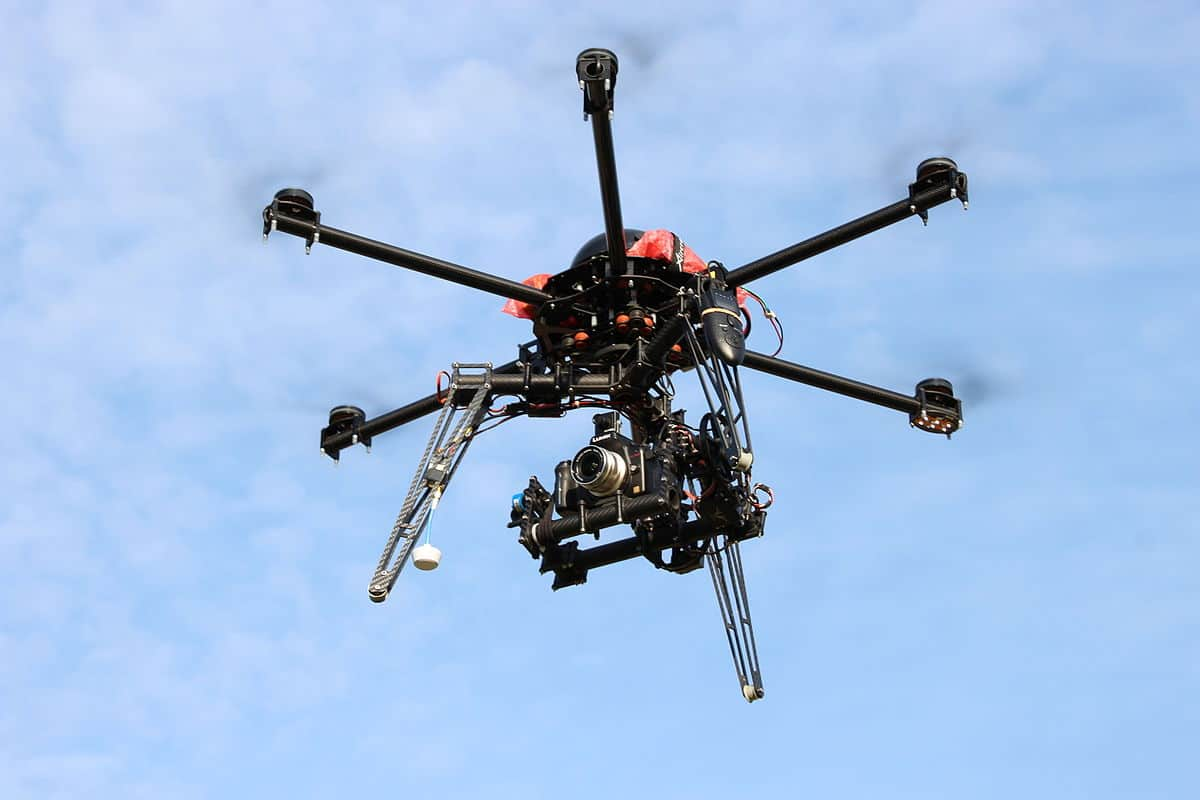 AgTech Drone imaging crops