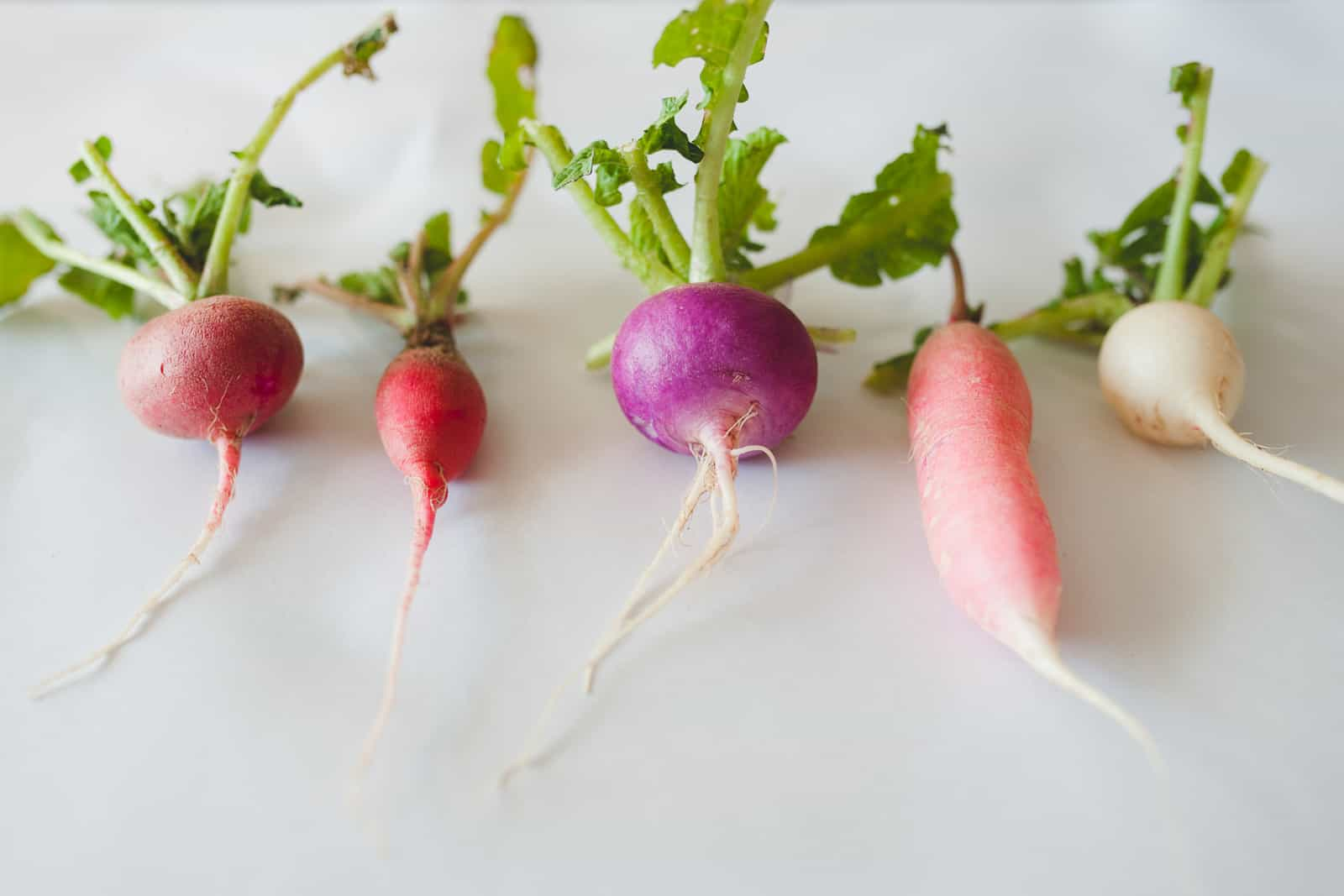 Root vegetables highlighting R&D in free-from foods