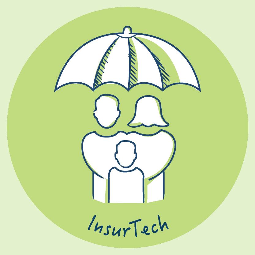 InsurTech disruptive tech companies
