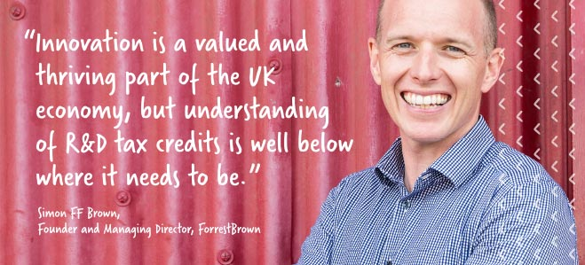 simon brown innovation quote