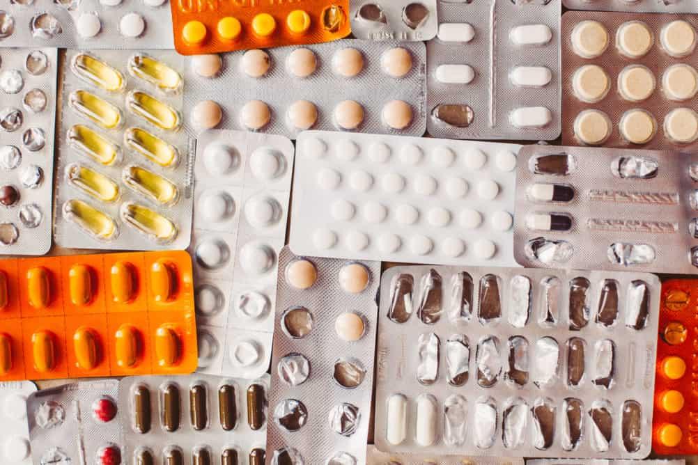 Packet of pills