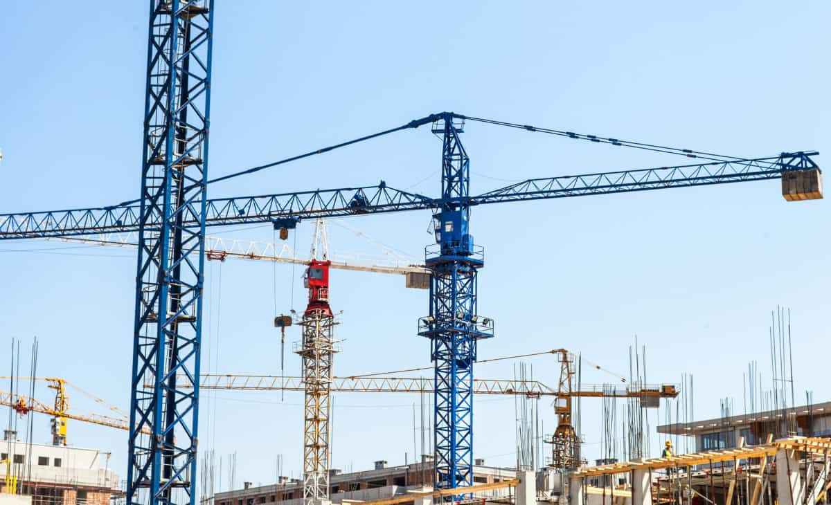 Cranes as a part of construction industry R&D project