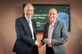 Simon Brown, ForrestBrown MD, wins the IoD South West Young Director of the Year Award 2017