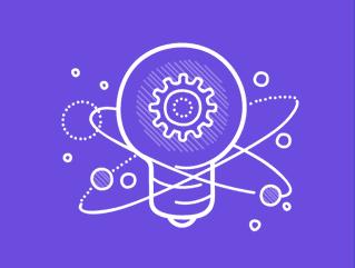 medium blue science park graphic