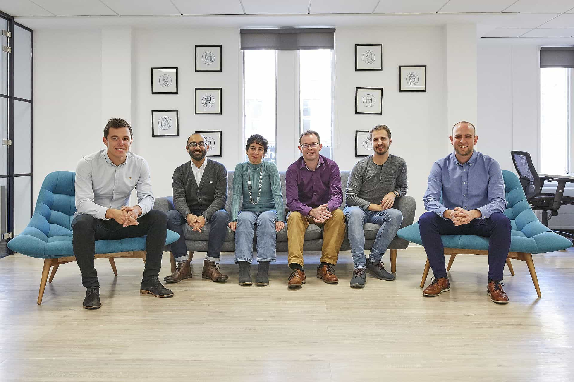 New joiners - Johnny, Sunil, Nina, Peter, Ian and Chris