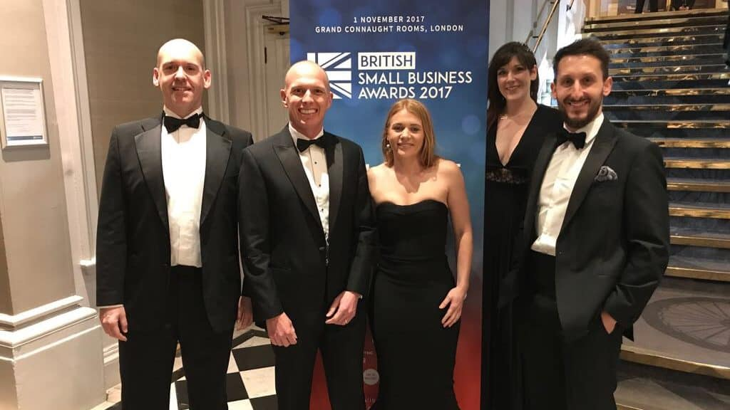ForrestBrown at British Small Business Awards
