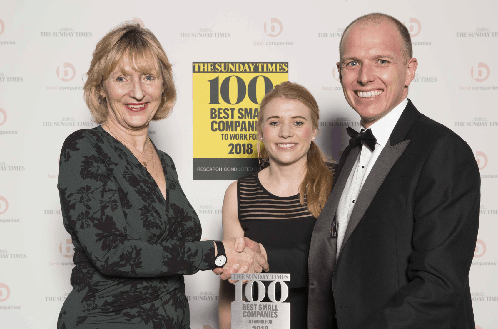 sunday times top 100 small companies to work for 2018