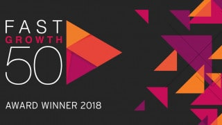 Fast growth 50 South West winner award logo