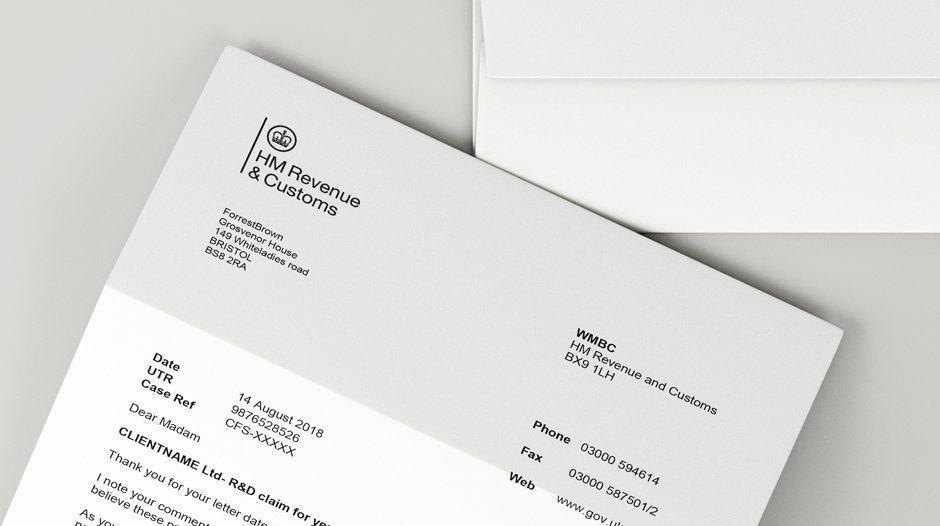 HMRC enquiry letter