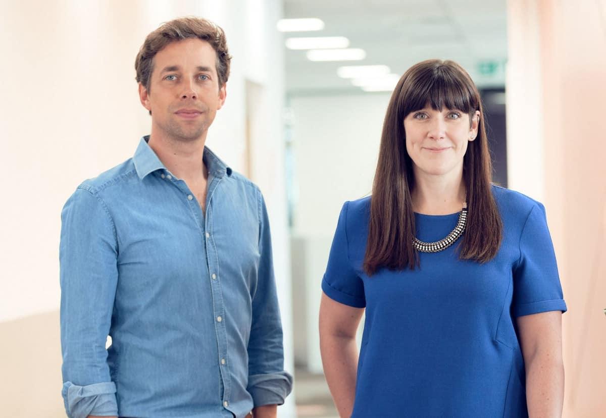 James Dudbridge and Jenny Tragner