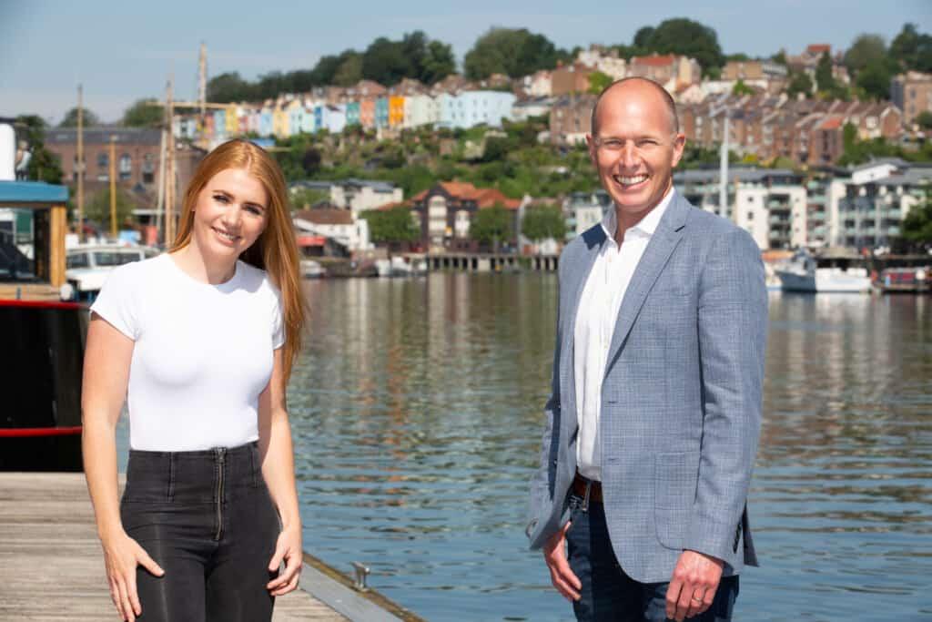 Lisa-Marie Smith and Simon Brown